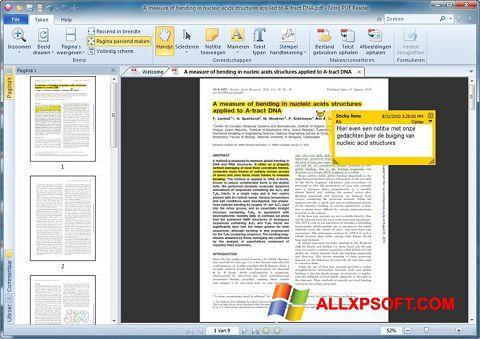 Petikan skrin Nitro PDF Reader untuk Windows XP