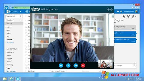 Petikan skrin Skype untuk Windows XP