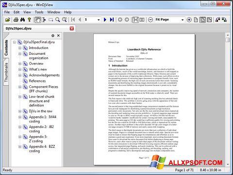 Petikan skrin WinDjView untuk Windows XP